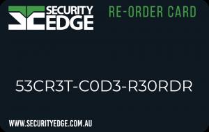 reorder card | Security Edge
